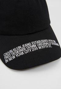 Calvin Klein Jeans - SPORT ESSENTIALS WEBBING - Czapka z daszkiem - black - 2