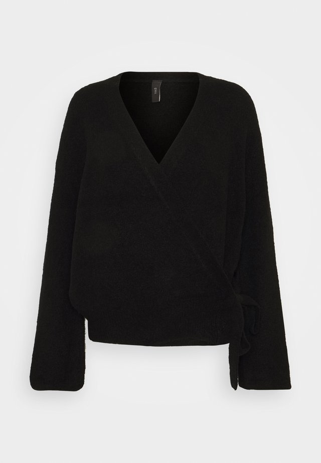YASISABEL CARDIGAN - Gilet - black