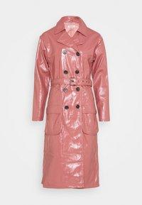 Glamorous - MIDI - Trenchcoat - rose pink - 0