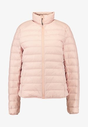 LADIES BASIC JACKET - Down jacket - lightrose