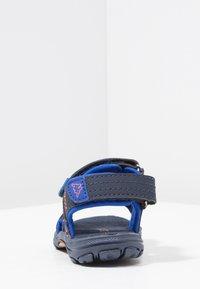 Kappa - EARLY II - Walking sandals - navy/orange - 4