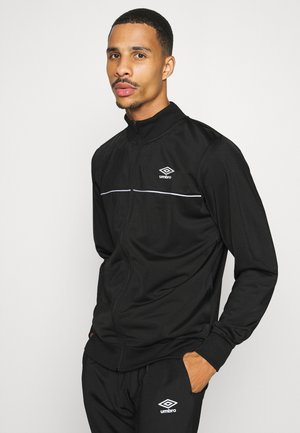 TRICOT TRACKSUIT - Survêtement - black/white