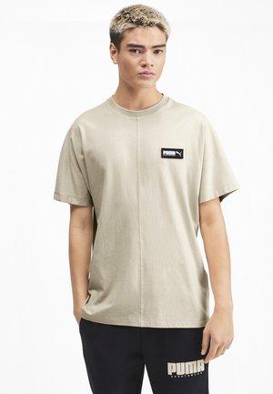 Print T-shirt - overcast