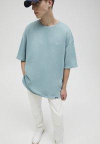 PULL&BEAR - T-shirt - bas - green - 3