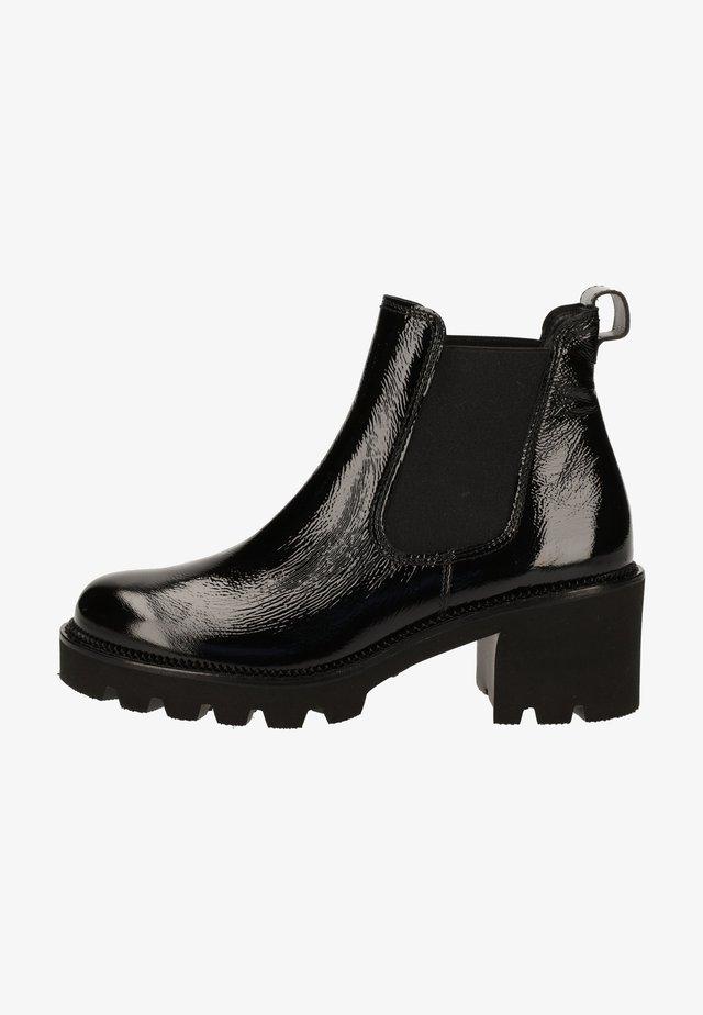 Platform ankle boots - schwarz 007
