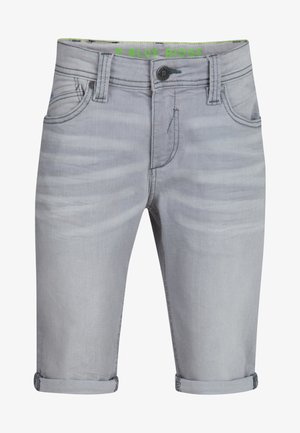 Denim shorts - light grey