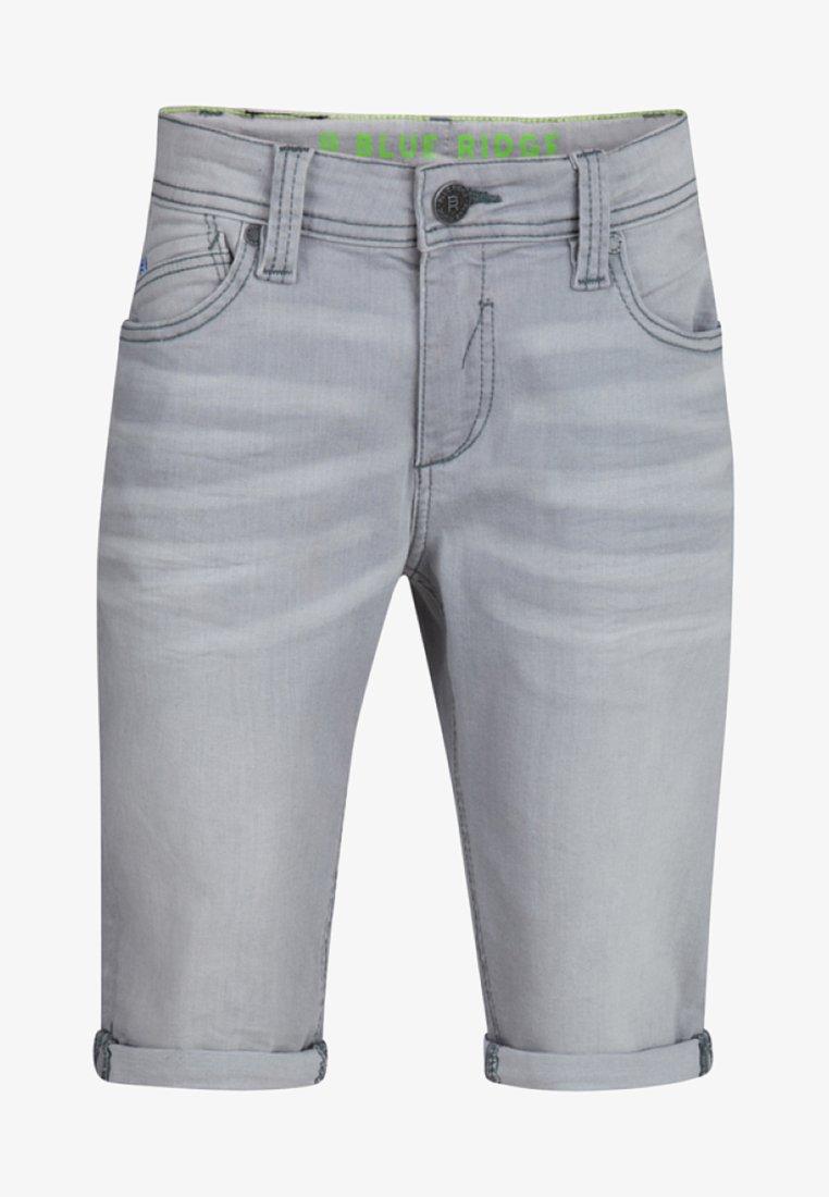 WE Fashion - Denim shorts - light grey