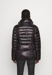 Patrizia Pepe - PUFFER BELTED - Winter jacket - nero - 3