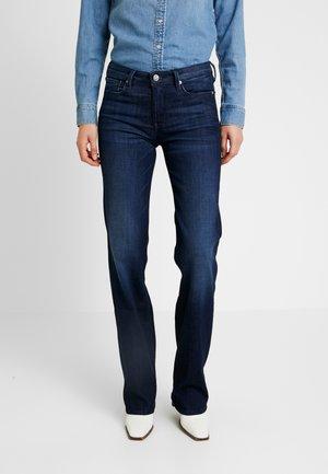 AUBREY SUSTAIN - Straight leg jeans - dark blue