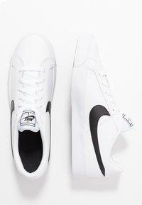 Nike Sportswear - COURT ROYALE - Trainers - white/black - 1
