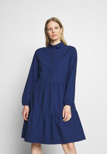 DRESS BUTTON PLACKET - Shirt dress - scandinavian blue