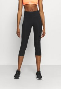 Nike Performance - ONE - 3/4 sports trousers - black - 0