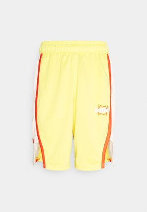 CURL SHORT - Sports shorts - celandine