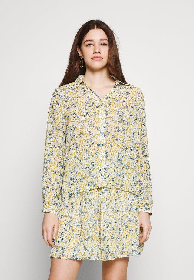VIJEMO  - Button-down blouse - cloud dancer