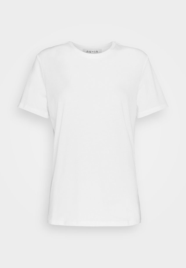 BASIC CREW NECK - T-shirts basic - white
