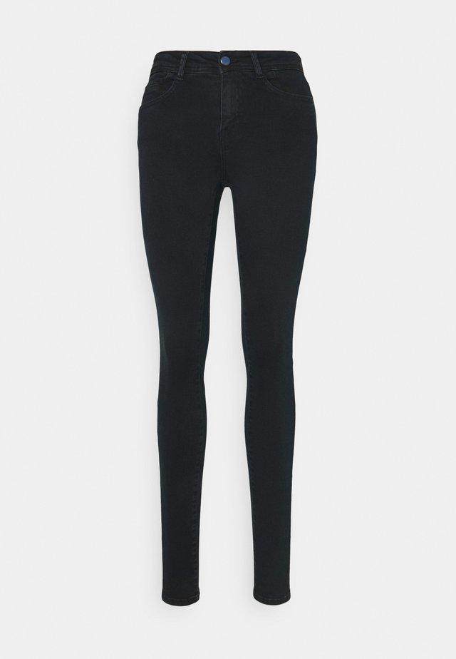 NMNEW LUCY - Jeans Skinny Fit - blue black denim