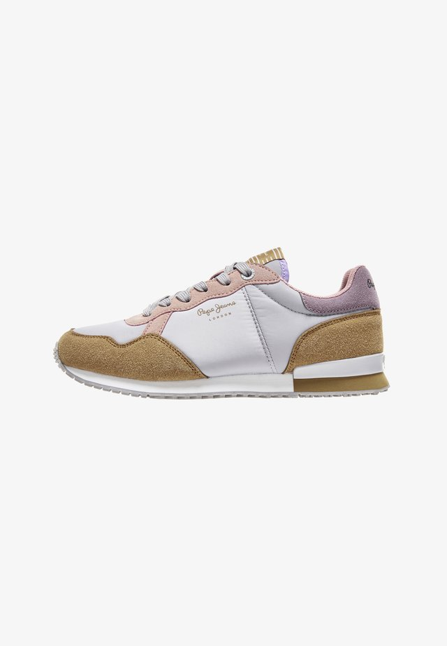 ARCHIE BASS - Sneakers laag - grey/rose