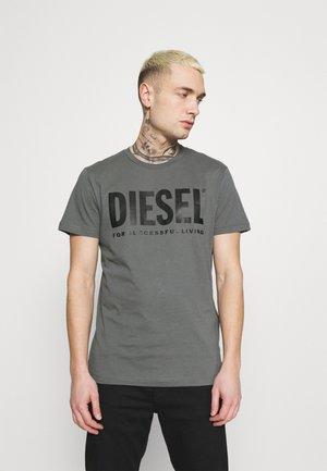 T-DIEGO-LOGO - Print T-shirt - grey