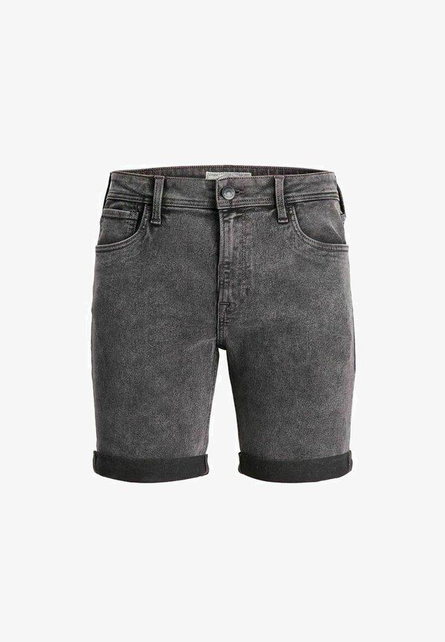 KLASSISCHE - Short en jean - dark grey