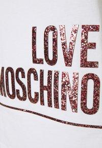 Love Moschino - T-shirt print - optical white - 6