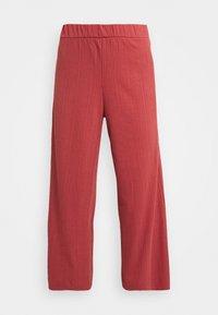 Monki - Trousers - rust - 3