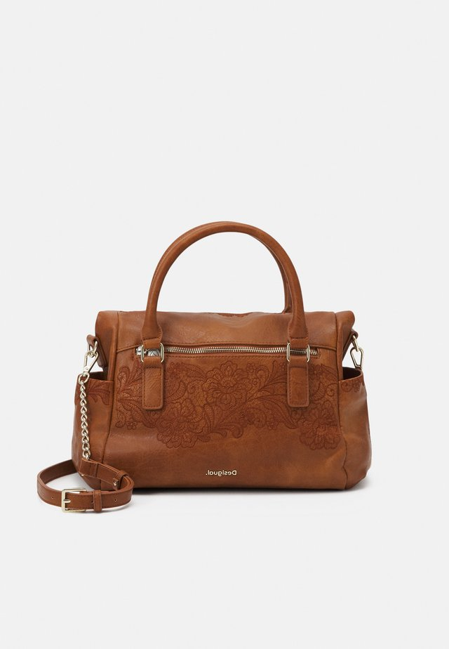 MELODY LOVERTY - Bolso shopping - camel oscuro