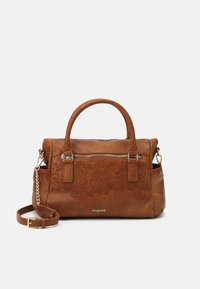 Desigual - MELODY LOVERTY - Tote bag - camel oscuro - 0