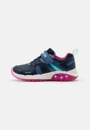 SPAZIALE GIRL - Zapatillas - navy/fuchsia