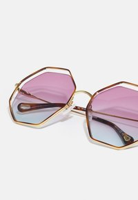 Chloé - Sunglasses - havana/gold-coloured/violet - 3