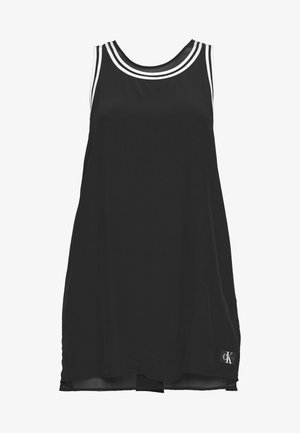 TANK DRESS WITH LINING - Denní šaty - black