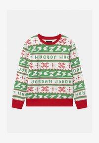 Jordan - JUMPMAN HOLIDAY CREW - Sweatshirt - gym red - 0