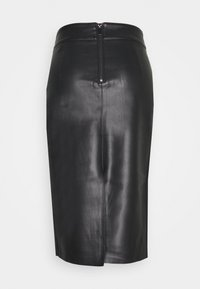 Dorothy Perkins - MIDI SKIRT - Pencil skirt - black - 1