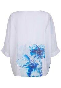 Alba Moda - Blouse - weiß blau - 5