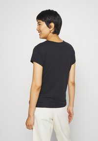 Abercrombie & Fitch - ICON CREW TEE - Basic T-shirt - black - 2
