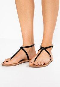 Even&Odd - T-bar sandals - black - 0