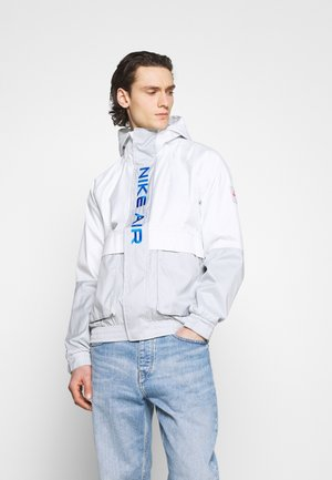 AIR  - Waterproof jacket - grey fog/summit white/signal blue