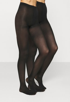 TIGHTS 40 DEN MOM 2 PACK - Strømpebukser - black