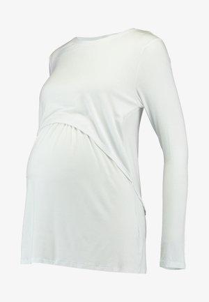 MATERNITY - Topper langermet - white
