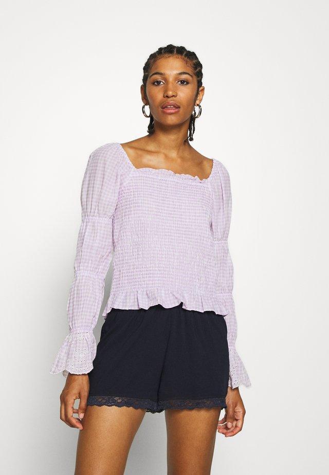 VMAMELIA SMOCK  - Pusero - pastel lilac