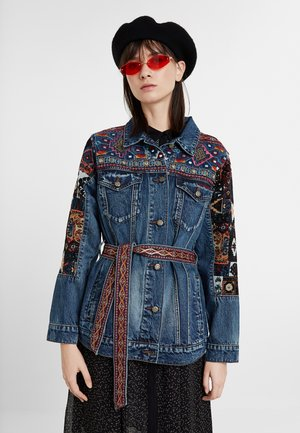 ATHLAS PARK - Denim jacket - blue