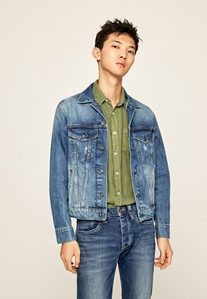 PINNER - Denim jacket - denim