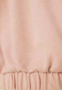 ONLY - ONLLIVVY CROPPED SET - Sweatshirt - mahogany rose - 5