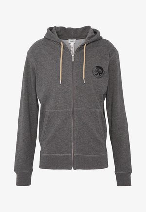 UMLT-BRANDON-Z - Zip-up hoodie - dark grey