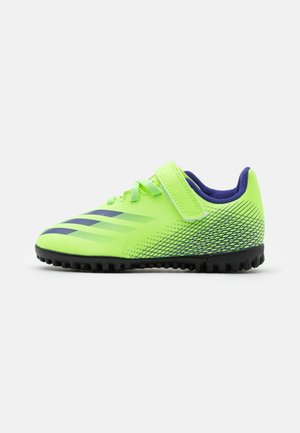X GHOSTED.4 FOOTBALL BOOTS TURF UNISEX - Voetbalschoenen voor kunstgras - signal green/energy ink