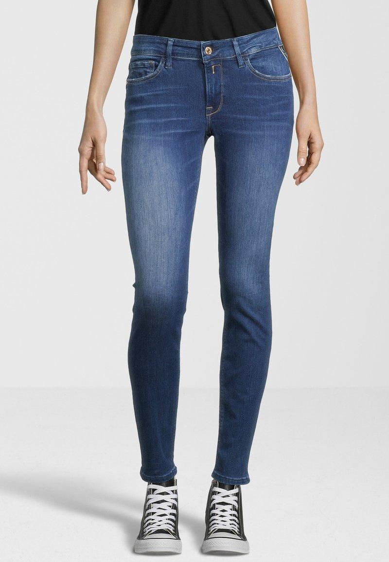 Replay - NEW LUZ - Jeans Skinny Fit - dark blue