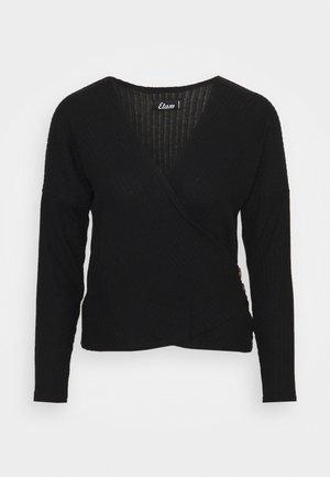 LAURYL LOUNGEWEAR - Pyjama top - noir