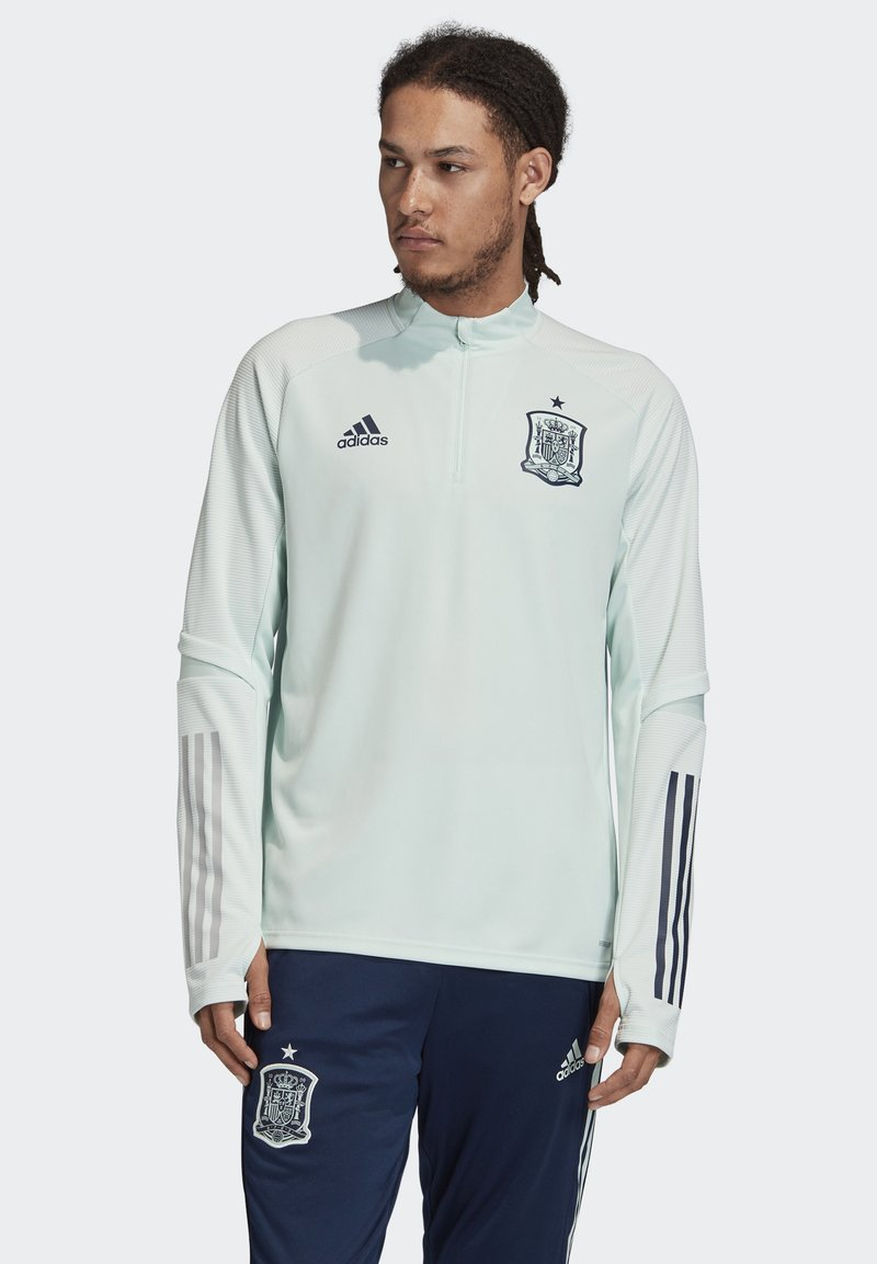 adidas Performance - SPAIN FEF TRAINING SHIRT - National team wear - dash green