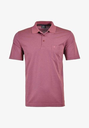 Polo shirt - beere pink
