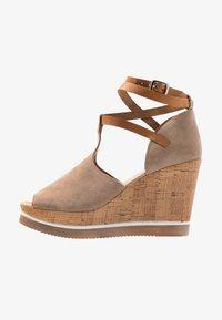 Felmini - MARY - High heeled sandals - taupe - 1