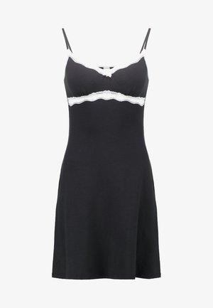 SOFT HARMONY - Noční košile - black